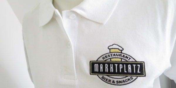 Ein anspruchsvolles Logo für Hemden, Blusen und Poloshirts des Service-Personals.