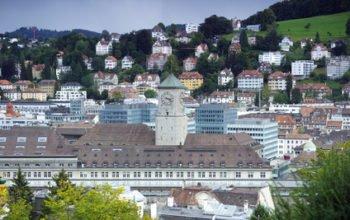 St Gallen, Sicht von oben