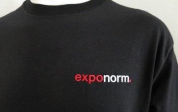 T-Shirts für die Standbauer zur einfachen Erkennung.