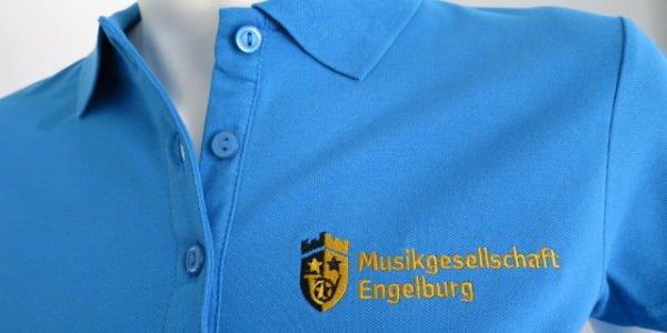 Bestickte Polo-Shirts für einen einheitlichen Auftritt.