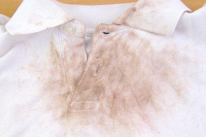 Very dirty white shirt