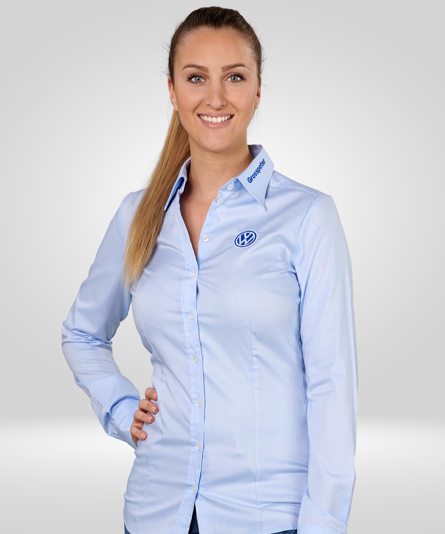 f7da89d39c337d Damenblusen und Herrenhemden: Mit einer edlen Logostickerei für den  gehobenen Firmenauftritt!