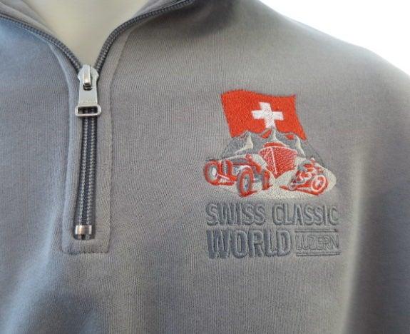 Jacken, Sweat-Shirts mit einer Stickerei von Tonsai.